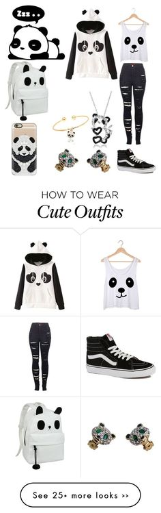 panda outfit from darkangel711 on polyvore.