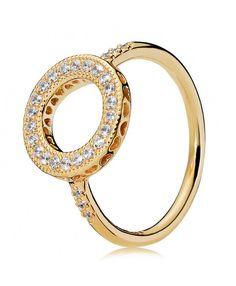 801e36004 Shine Hearts of PANDORA Halo Ring Pandora Rose Gold Rings, Pandora Rings  Stacked, Pandora