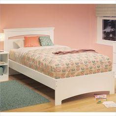 $205 - Libra 39'' Twin Bed in Pure White - 3860189 - Lowest price online on all Libra 39'' Twin Bed in Pure White - 3860189