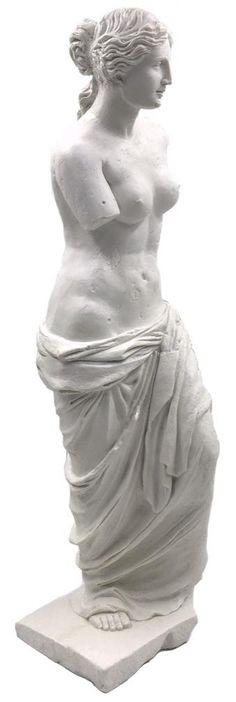 Aphrodite of Melos (Venus de Milo) Greek Statue 17H