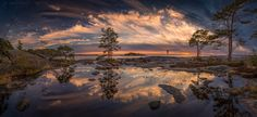 Cloud Dome by Janne Kahila - Photo 124926211 - Panoramic Photography, Sunrise Photography, Nature Photography, Beautiful Landscape Photography, Stunning Photography, Landscape Pictures, Nature Pictures, Cool Landscapes, Beautiful Landscapes