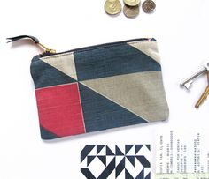 www.tamasyngambell.com Pouch, Wallet, Pink Yellow, Screen Printing, Coin Purse, Tote Bag, Mini, Pattern, Bags