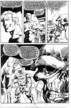 Captain America # 350, página 64