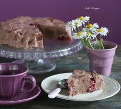 Диетический шоколадный желейный торт с вишней | Рецепты правильного питания - Эстер Слезингер