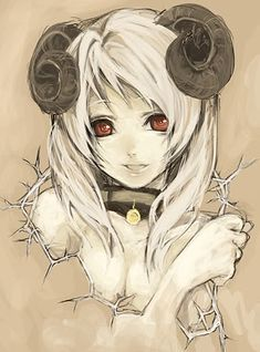 anime girl with antlers - Google Search