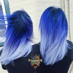 @hairbykaseyoh never fails to impress us!  Check out this gorgeous blue ombre…