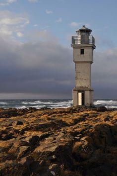 Old Lighthouse, Akranes, Vesturland, Iceland