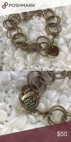 ✨Vintage Betsey Johnson Bracelet✨ ✨90's Betsy Johnson bracelet. Gold. I'm great condition. Sold with free fabric bag for preservation.                       ✨25% off All Bundles of Items 2 or More!                               SAME DAY SHIPPING ON ALL ORDERS BOUGHT BEFORE 2 pm PST✨✨ Betsey Johnson Jewelry Bracelets