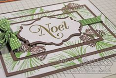 Triple Time Stamping on Patty Bennett' blog. Card contest cici