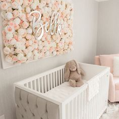 Little Princess Poster Child/'s Nursery Artwork Print Script Style Grey