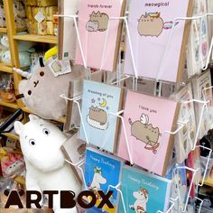 Sorry we've been slow on the updates recently  no sooner had we made our web shop live then it was time to start the manic preparations for our pop-up shop at London MCM Comic Con!  It's next weekend will you be there?  In the meantime here's a peek at some of the cute #pusheen and #moomin items that will be available at our booth and also available to buy at ARTBOX.co.uk   @mcmcomiccon #artboxuk #artboxlondon #artbox #kawaiishop #cuteshop #kawaiiplush #pusheenplush #kawaiiwebsite #comiccon…