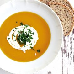 Supa de dovleac cu portocale