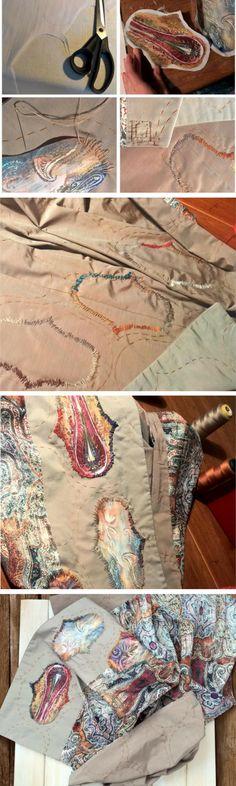 Soft wrap shawl, silk stole, silk shawl, big scarf, by Sweetjroom. Ornament accessory.