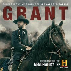 History Channel, Leonardo Dicaprio, Girls Boarding Schools, Ulysses S Grant, Civil War Movies, Imdb Tv, Popular Tv Series, Colin O'donoghue, Love Movie