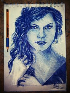 Taylor Swift portrait / portret
