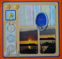 Seaside - Scrapbook.com LBI Sunset