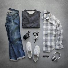 Double tap IF YOU ❤ #grid #duoseptember Grid Credit to #thepacman82 via #votrends #streetwear#menwithstyle#sharpgrids#outfitgrid#fashion#smart#gentleman#grids#jeans#leatherjacket#sneakers#watch#shirts#dress#code#casualwear#adidas#menwithstreetstyle#leather#bag#boots#winter#season#springisnow#summer#outfitgrid