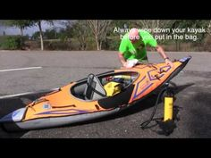 Advanced Elements Sport AE1017-0 - YouTube Product Review, Kayaking, Boat, Outdoor Adventures, Trailers, Youtube, Sports, Camping, Life