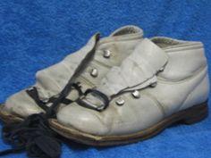 Vanhat monot koko 38, valkoiset hiihtokengät, B13 Minnen, Long Time Ago, My Memory, Childhood Memories, Hiking Boots, Nostalgia, Retro, Bags, Vintage
