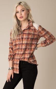 4607df41 Oversized Flannel, White Shop, Flannel Shirt, Crow, Feminine, Women's