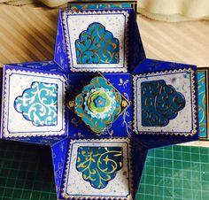 """""""Kerala"""" box, fully finished, opened"""