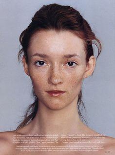 Audrey. By Gilles Bensimon, 2003.
