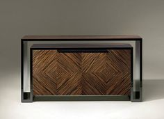 Contemporary sideboard / in wood DUPLO U Luisa Peixoto Design