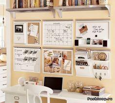 Куда спрятать рабочее место и как его организовать / организация рабочего стола