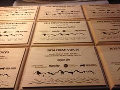 Custom Maple Plaques Laser engraved by Eclipse Awards Custom Trophies, Custom Awards, Laser Engraving, Over The Years, Bullet Journal