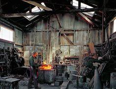 Nostalgic Photos of SF Show the City Before Gentrification | Johnny Ryan, Blacksmith, Klockar's Blacksmith
