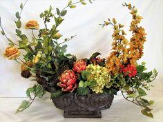 April's Garden Silk Flower Wreaths and Artificial Floral Arrangements
