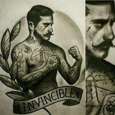 Tradicional tattoo desing