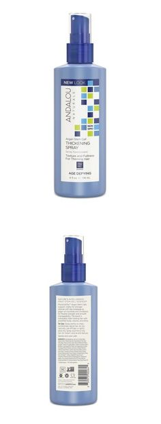 wholesale Hair Care: Andalou Naturals Argan Stem Cell Age Defying Thickening Spray - 6 Oz (Pack Of 6) -> BUY IT NOW ONLY: $47.5 on eBay!