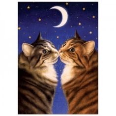A beautiful Anniversary Card which is eco-friendly, especially for those feline lovers out there :)
