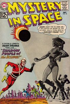 "1967 Alley Award: Strip Most Desired for Revival - ""Adam Strange""  (DC Comics)"