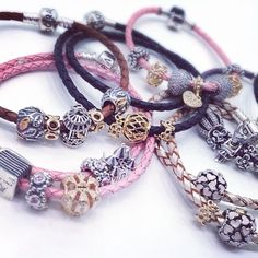 What will you create with your next Pandora bracelet? http://www.pandoratowson.com/finished-bracelets.html