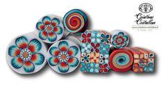 Fimo Cristalline, tuto et bijoux en polymère: En cours ...LOVE these!  by Sophie Arzalier