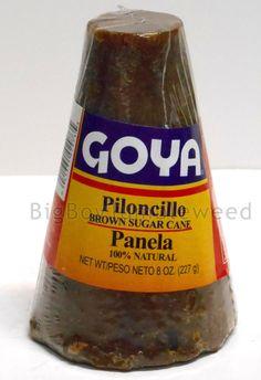 2 pc GOYA Piloncillo cone Panela brown #sugar cane 8 oz cooking baking #caramel