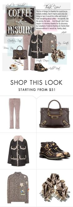 """Mon Style № 159 - 20 November, 2017"" by mon-style-diary ❤ liked on Polyvore featuring 7 For All Mankind, Balenciaga, Marc Jacobs, Miu Miu, Dolce&Gabbana and Black"