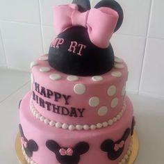 De Lígia Pinto: Bolo de aniversário. Minnie
