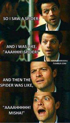 Oh Misha lol