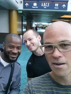 Anthony, Nicholas, and Timothy are so ready for our July European tour. First stop: Portugal!  Also file under: Iconic PDX Carpet