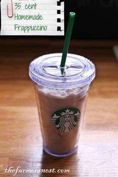 35 cent Homemade FrappuccinoYou can order the pampered chef products at http://www.pamperedchef.com/pws/busycook24 Like and share my facebook page at https://www.facebook.com/busycook24