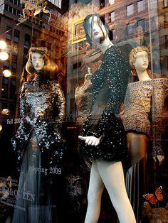 Beautiful Window Displays!: alexander mcqueen