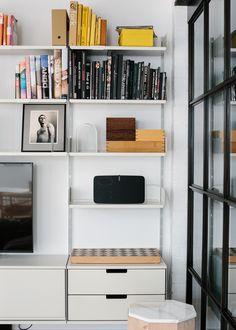 In the 1,400 sqft. NYC loft of Danish designer Søren Rose — known for his Scandi…