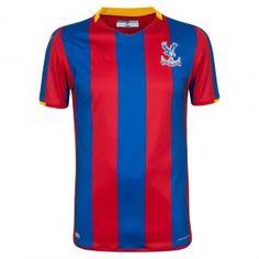 ec59a151fe8 Crystal Palace FC 2017-18 Season Home Glaziers Shirt Jersey [K242] Cheap  Football