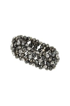 Facet And Rhinestone Stretch Bracelet Christmas Day Outfit, Wallis, Stretch Bracelets, Stretches, Fashion Dresses, Clothes For Women, Style, Fashion Show Dresses, Outerwear Women