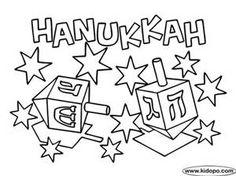 hanukkah coloring pages Free Hanukkah Coloring page More