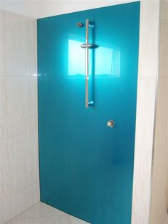 Back Painted Glass Shower Walls Easy Clean Simple Design Still - Acrylic bathroom wall panels for bathroom decor ideas