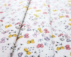 Cloud9 Fabric Arcadia 121015 Flutterflies Pink